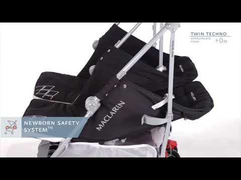 Maclaren Twin Techno Stroller Demo Youtube