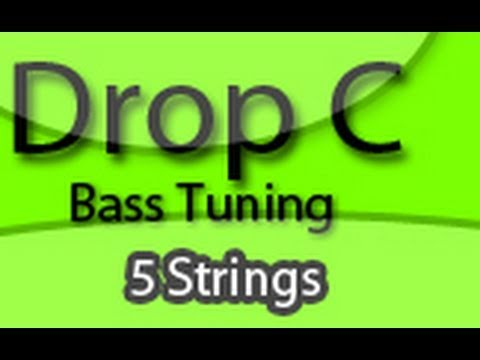 tuning your bass to drop c five strings youtube. Black Bedroom Furniture Sets. Home Design Ideas