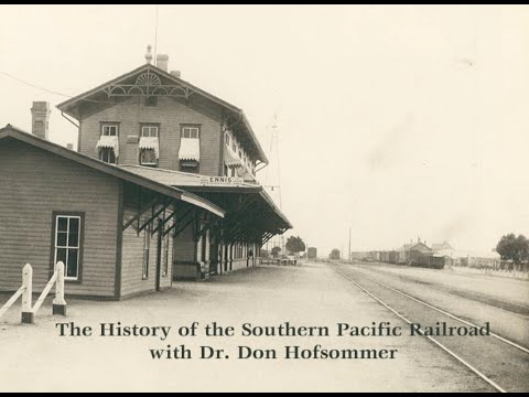 History Of The Southern Pacific Railroad