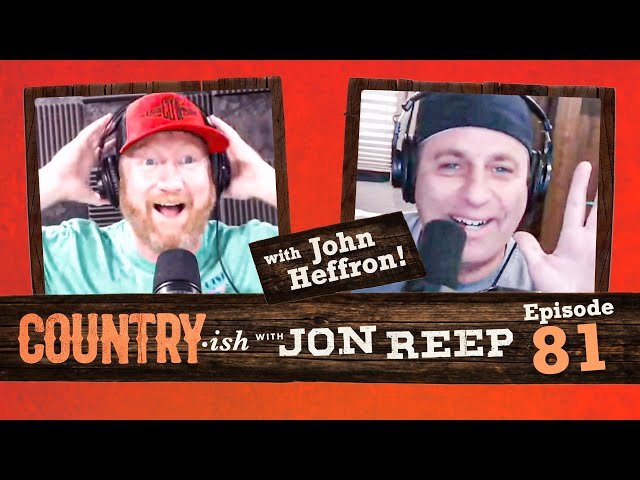 Theo Von, John Heffron, Justin Clyde Williams, & Being Stuck In a Fan! - COUNTRY-ISH w Jon Reep Ep81