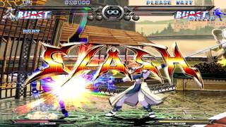 Guilty Gear XX Reload (PC) Arcade Gameplay Test