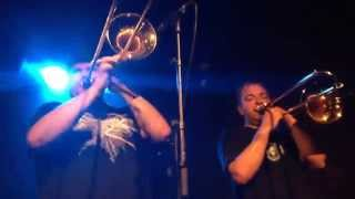 Youngblood Brass Band at Lille Vega 4-Aug-2015 plays Brooklyn