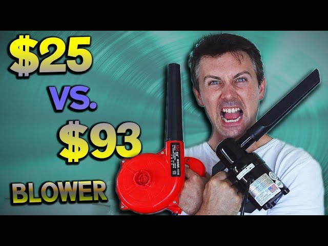 $25 EBAY BLOWER Vs. $93 DATAVAC - Which CLEANS Your PC BETTER?