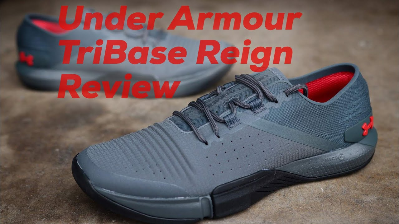 Under Armour TriBase Reign Review - YouTube