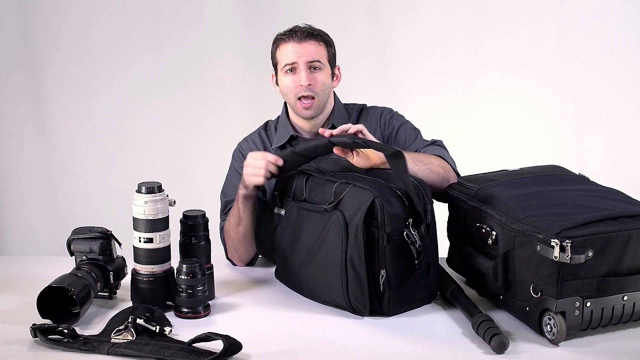 Gear review shoulder vs roller camera bag for wedding for Wedding photographer camera bag