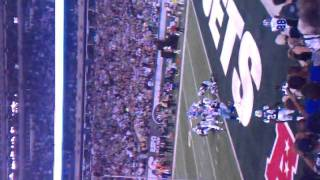 Tony Romo fumbles on the 1. On 9/11/11 section 106