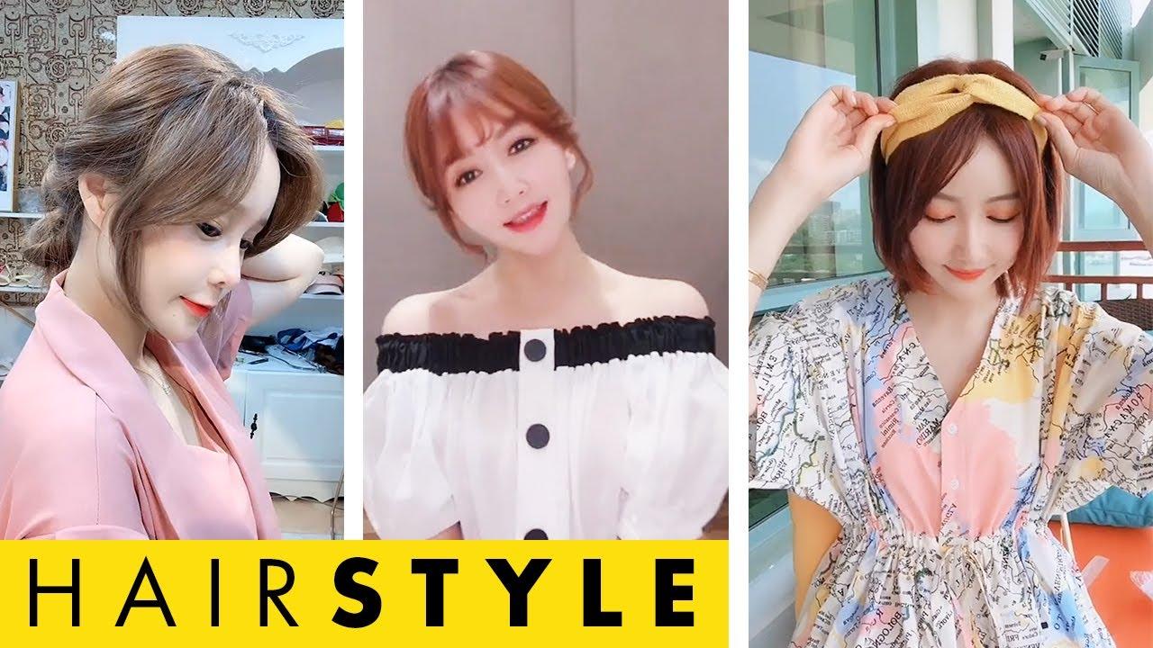 Cách buộc tóc ngắn đẹp cho bạn nữ💇👩 Easy Hairstyles #2