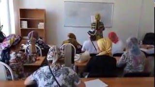 ISLAMIC-RELIEF- урок таджвида для глухих и слабослышащих женщин