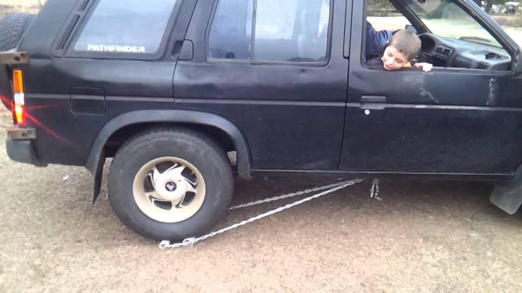 My truck has no reverse  This is what I built so that I can back up if I  have to