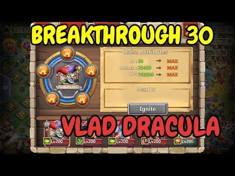 30BT Vlad Dracula In Action L Castle Clash
