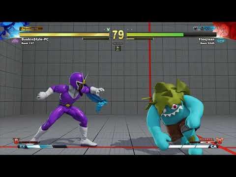 SFV~ Blanka (Floejisan) vs. Rashid (BushinStyle_PC) HD 2