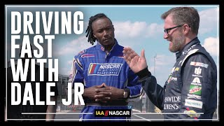 Driving Fast With Dale Jr. | I AM NASCAR w/Brandon Marshall, Chad Johnson & More