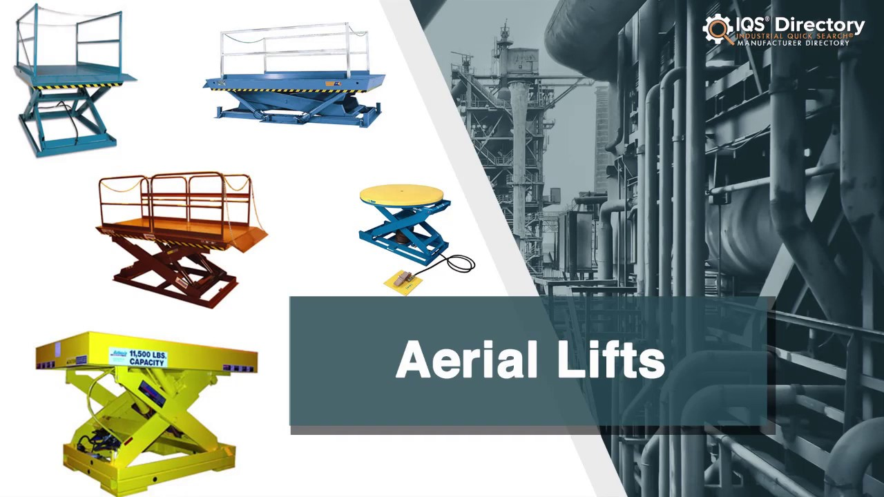 aerial lift manufacturers suppliers and industry information [ 1280 x 720 Pixel ]