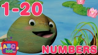 Numbers Song 1 to 20 | Nursery Rhymes & Kids Songs - ABCkidTV