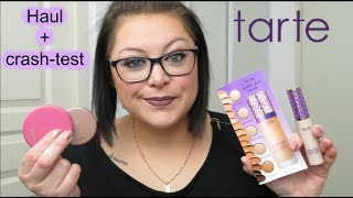 HAUL + CRASH-TEST : la marque TARTE (SHAPE TAPE anti-cernes et fond de teint + blush et highlighter)