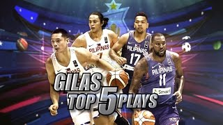 SEABA Gilas Top 5 Plays | SEABA 2017