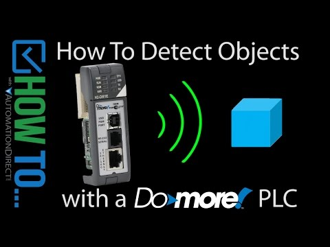 How To Detect Objects with a Do-more PLC