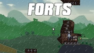 FORTS Multiplayer - Backseat Memes! 4v4 Gameplay