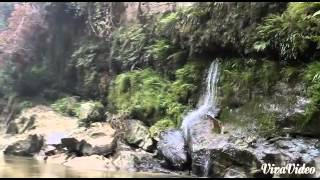 Air terjun 3 lapis rokan IV koto rokan hulu Riau