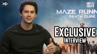 Dylan O'Brien on his Accident, Directing & Action Movies - Maze Runner: The Death Cure Interview