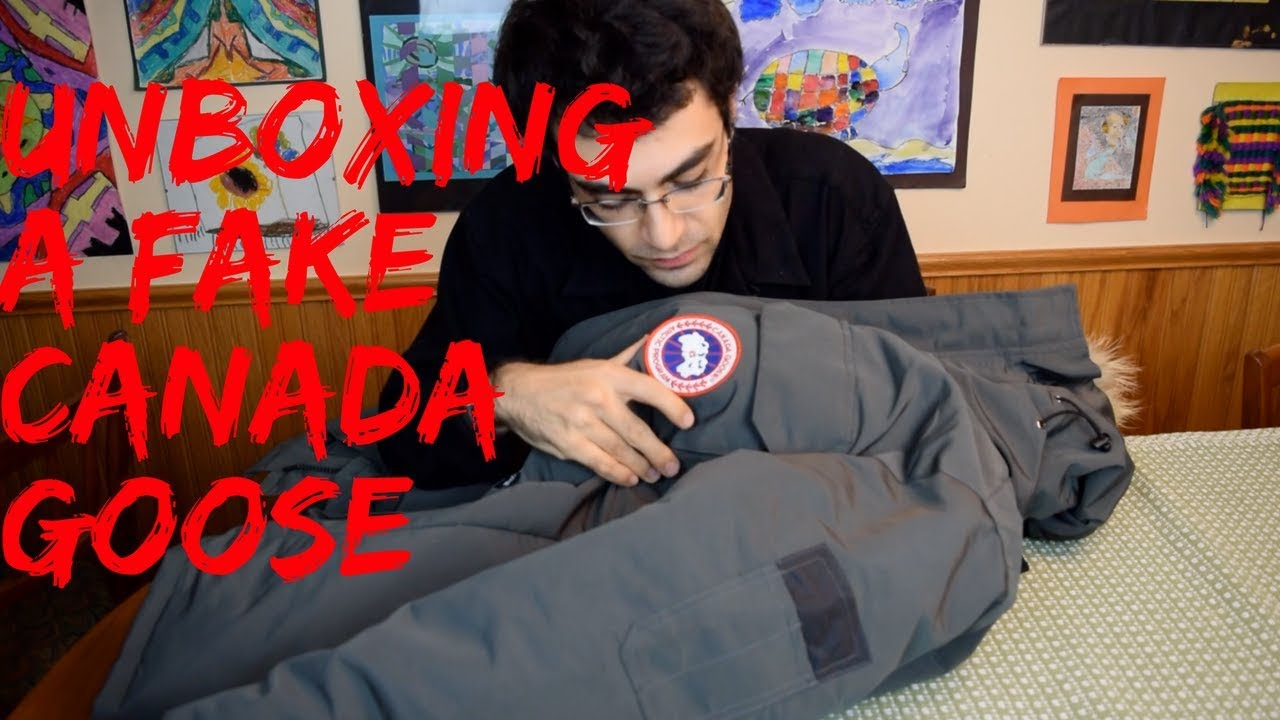 canada goose fake mail