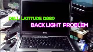 Dell LATITUDE D620  Laptop Screen Backlight Repair