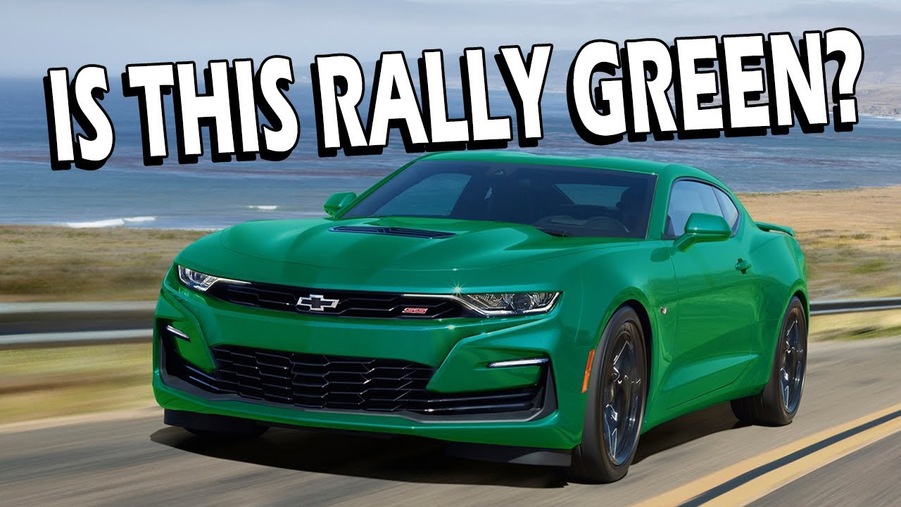 2020 Camaro In Rally Green?!?