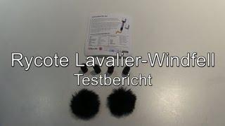 Testbericht: Rycote Windschutz für Lavaliermikrofone