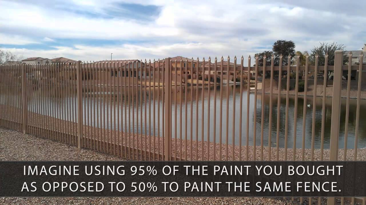 Using Electrostatic Painting In Phoenix For Wrought Iron Fencing