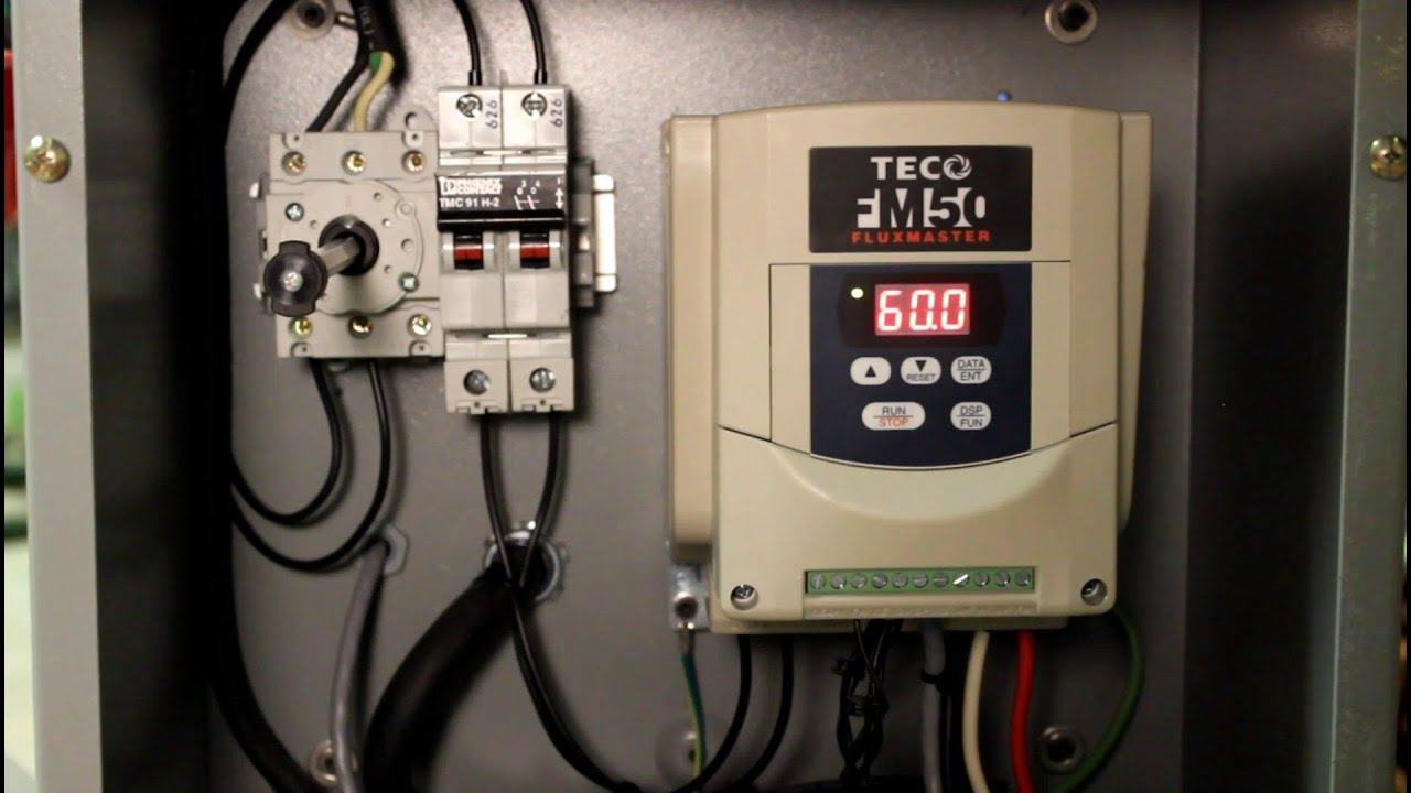 tool reviews teco fm50 variable frequency drive [ 1280 x 720 Pixel ]
