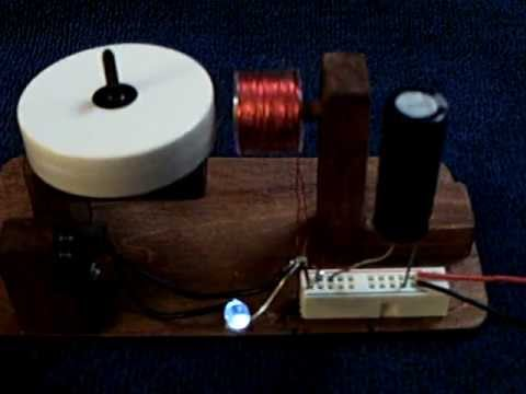 Simple Capacitor Pulse Motor Youtube