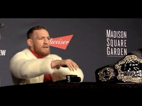 Conor McGregor 'Suck My Big Irish #####' After Eddie Alvarez Demands Apology