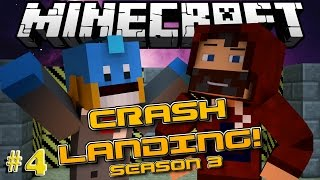 """TRAPPED CHICKENS!"" CRASH LANDING S3 with HUSKY #4"