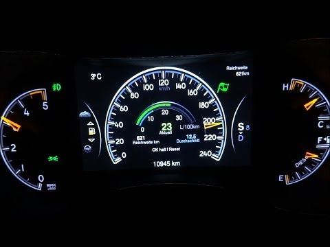 Jeep Grand Cherokee Acceleration 0-100 / 0-200 / Top Speed Test