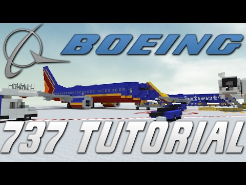 Boeing 737-700 Tutorial! | Minecraft