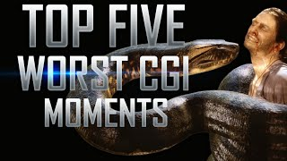 Top 5 Worst CGI Effects in Movie History
