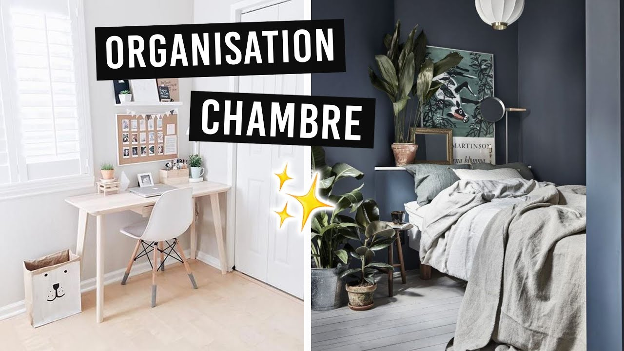 7 astuces pour organiser d corer sa chambre youtube. Black Bedroom Furniture Sets. Home Design Ideas