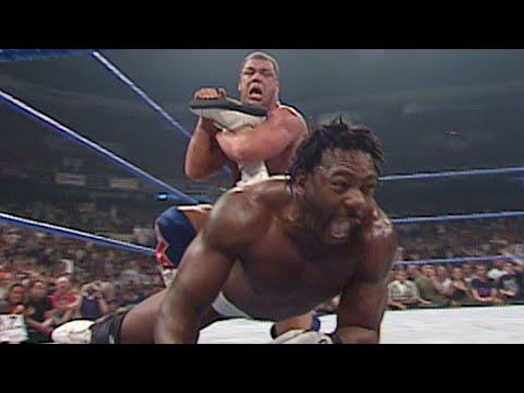 Booker T vs. Kurt Angle - WCW Championship Match: SmackDown, July 26, 2001