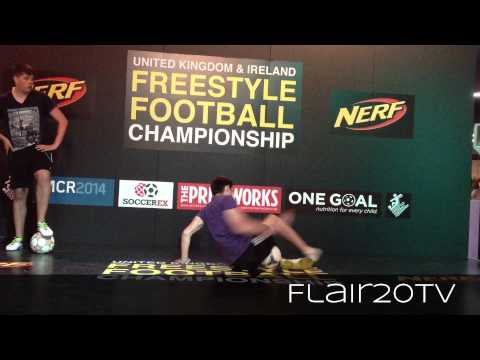 Conor Reynolds v Jamie MacDonald - Quarter-Final | UKIFFC 2014