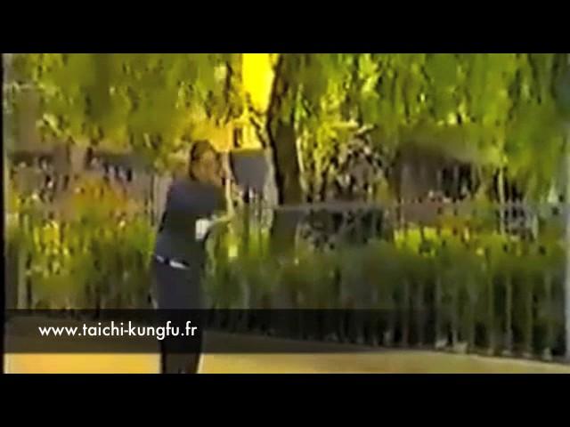 Vidéo Ancienne 3/12 - Tai Chi style Chen Hallebarde par Chen Zhen Ru  (69 ans)
