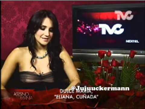 """Dulce María es la asesina """"Eliana Cuñada""""."""
