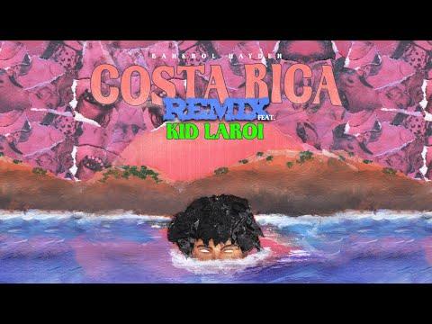 Bankrol Hayden - Costa Rica (feat. The Kid LAROI) [Remix] [Lyric Video]