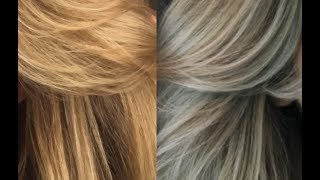 How to get rid yellow hair & achieve perfect ash blonde / sposób na chłodny blond