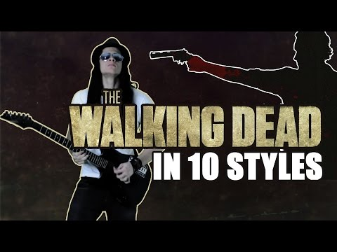 The Walking Dead theme in 10 Styles