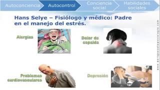 Síntomas del estrés y ansiedad