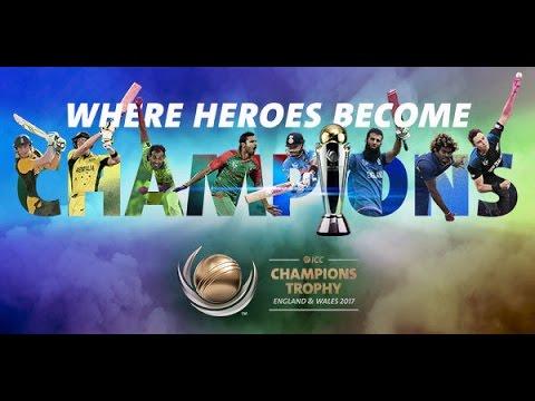 ICC Champions Trophy 2017 Promo