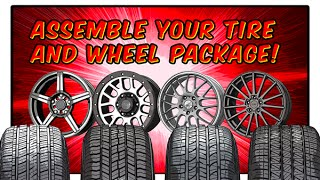 Discount Tire - Assemble Your Tire & Wheel Package