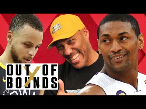 Guest Metta World Peace Talks Warriors Fail, LaVar Ball Biz, Guarding LeBron | Out of Bounds