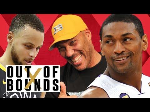 Guest Metta World Peace Talks Warriors Fail, LaVar Ball Biz, Guarding LeBron | Out of Bounds