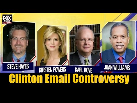 Hillary Clinton Email Controversy Discussed on Fox News Sunday Panel